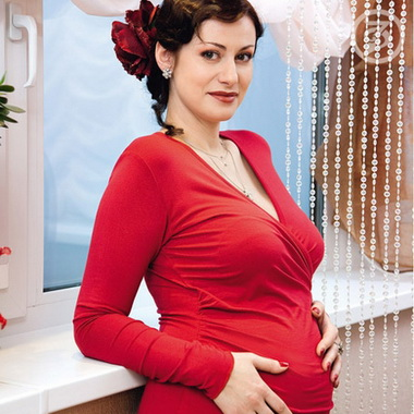 Анна Ковальчук с детьми