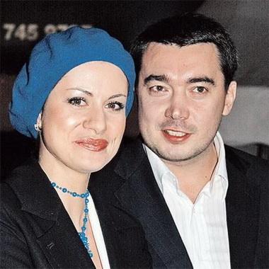 Анна Ковальчук и ее муж